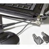China Laptop Computer Locks Cable Laptop 14mm Lock with Peripheral Trap for sale