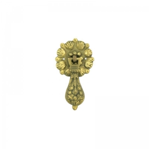 China Antique Restoration Brass Drop Handle on sale
