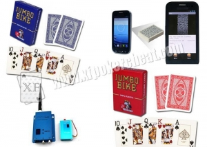 China Modiano Jumbo Bike Marked Poker Cards For Analyzer on sale