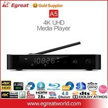 China Egreat A5 4k hd sexy video media player with HDR Android smart USB media player on sale