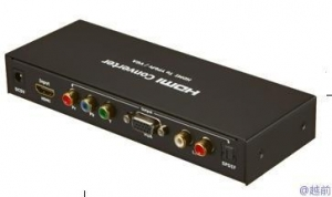 China Sata Cable HDMI to VGA+YPBPR Converter on sale
