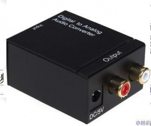 China Sata Cable Digital to Analog Audio Converter on sale