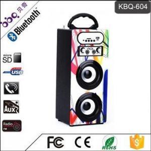 China CE ROHS Hands free wireless bluetooth speaker FM Radio on sale