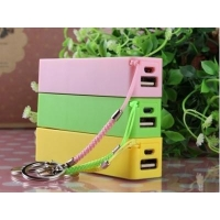 China 2014 new design 2200mAh key chains mobile power bank on sale