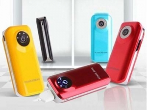 China DEL-0111 new design portable power bank 5200mah on sale