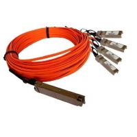 QSFP to 4x SFP+ AOC Cable