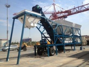 China 300t/h Mobile Stabilized Soil Mixing Plant for Sale on sale