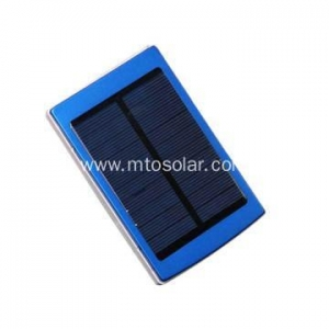 China usb solar charger with 1800mAh lithium battery on sale