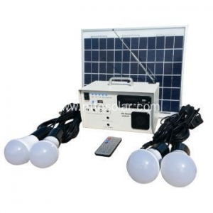 China 10w off grid photovoltaic solar electric generator on sale