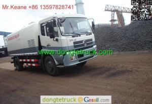China 12T high pressure washing Road Sweeper Truck on sale