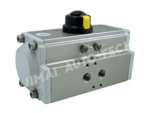 China Rack and Pinion Pneumatic Actuator on sale