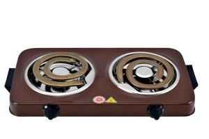 China High-powered Coil Hot Plates With Two Die-cast Heating Elements For Fast Cooking on sale