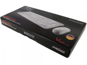 China Piano White Keyboard and Mouse Set on sale