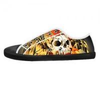 Shoes Custom Canvas Shoes for Men Model016 (Black)