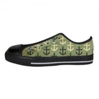 Shoes Custom Aquila Canvas Shoes for Men Model018(Large Size)