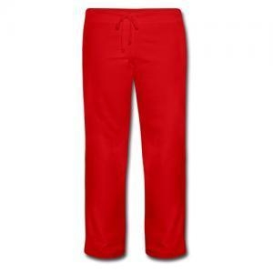 China Womens Clothing Women's Red Sweatpants on sale