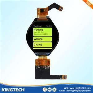 China new product 1.3 inch ips small round circular lcd display 1.39 amoled oled on sale