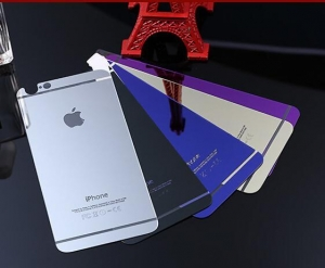 China Other Accessory iPhone 6s color tempered glass screen protector with mirror effect on sale