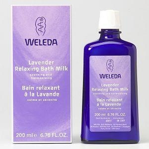 China Weleda Lavender Relaxing Bath Milk 200ml on sale