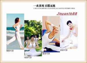 China Hot Sexy Yoga Clothes Ladies Yoga Pants/Capris Ladies Gym Clothes on sale