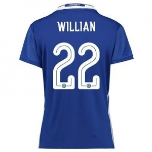 China Chelsea Linear Home Shirt 2016-17 - Womens Fit with Willian 22 printing on sale