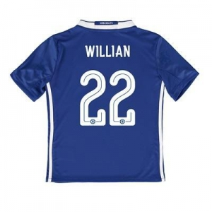 China Chelsea Linear Home Shirt 2016-17 - Kids with Willian 22 printing on sale