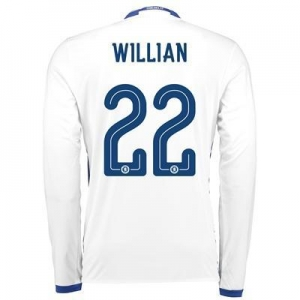 China Chelsea Linear Third Shirt 16-17 - Long Sleeve with Willian 22 printing on sale