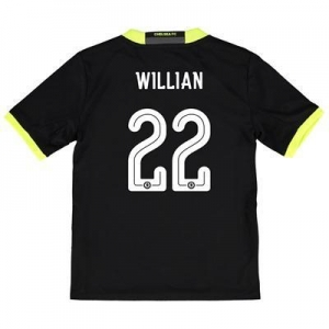 China Chelsea Linear Away Shirt 16-17 - Kids with Willian 22 printing on sale