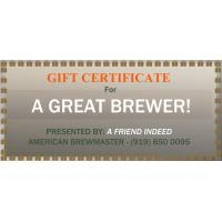 Gifts Online Gift Certificate - To Redeem Online