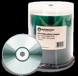 China Microboards White Inkjet DVD-R Hub Printable on sale