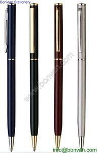 China hotel and resort metal ball point pen,amenity hotel pen,guest room pen on sale