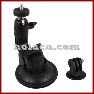 China Holaca 9CM Suction Cup with tripod adapter for Gopro Hero 2 3 3+ 4 on sale