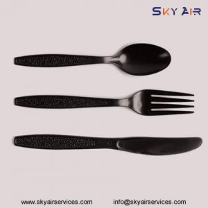 China 4 in 1 Disposable PP Plastic Airline Cutlery Suppliers in China on sale