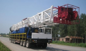 China 750HP Truck-Mounted Rigs on sale
