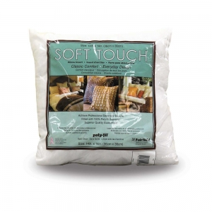 China FORMS AND FILLERS POLY-FIL Soft Touch 14 Pillow Insert - 35 x 35cm (14 x 14) on sale