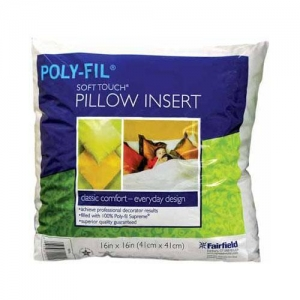 China FORMS AND FILLERS POLY-FIL Soft Touch 16 Pillow Insert - 41 x 41cm (16 x 16) on sale