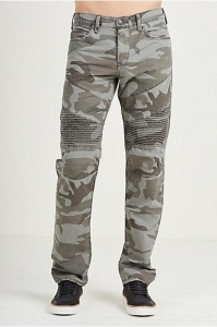China HAND PICKED HAND PICKED SLIM MOTO CAMO MENS PANT on sale