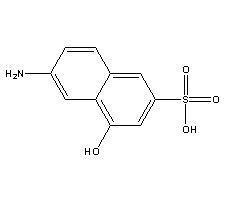 China Dye intermediates 2-Amino-8-naphthol-6-sulfonicacid on sale