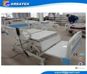China Hospital Bed GT-BM120B 3-Function Chair-Type Electric Nursing Bed on sale