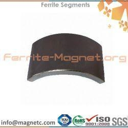 China Arc Shaped Ferrite Magnet on sale