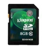 Kingston sd card class 10 8gb sdhc