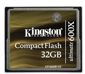 China Kingston 16GB CF Compact Flash Memory Card Ultimate 600X CF/32GB-U3 90MB/s on sale