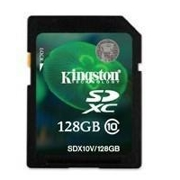 Kingston sd card class 10 128gb