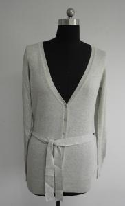 China ladies long cardigan sweaters Fashion Lady Long Cardigan Sweater on sale