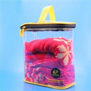 China Transparent shenzhen bags pvc zipper bag on sale