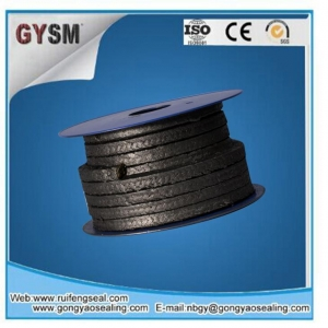 China Heat Insulation Asbestos Graphite Packing With Oil With Wire on sale