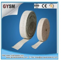 Ceramic Fiber Products Heat Insulation Dust Free Asbestos Tape
