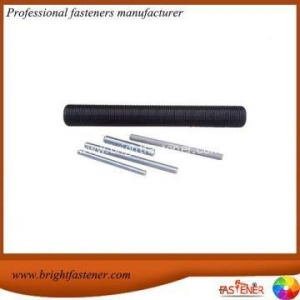 China Spceial Rod Carbon Steel Threaded Round Bars DIN 975 on sale