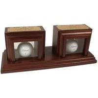 China Christmas Decor 2 Holes in One Desktop Display on sale