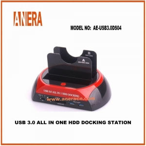 China Type C CABLES USB 3.0 ALL IN ONE HDD DOCKING STATION AE-USB3.0DS04 on sale
